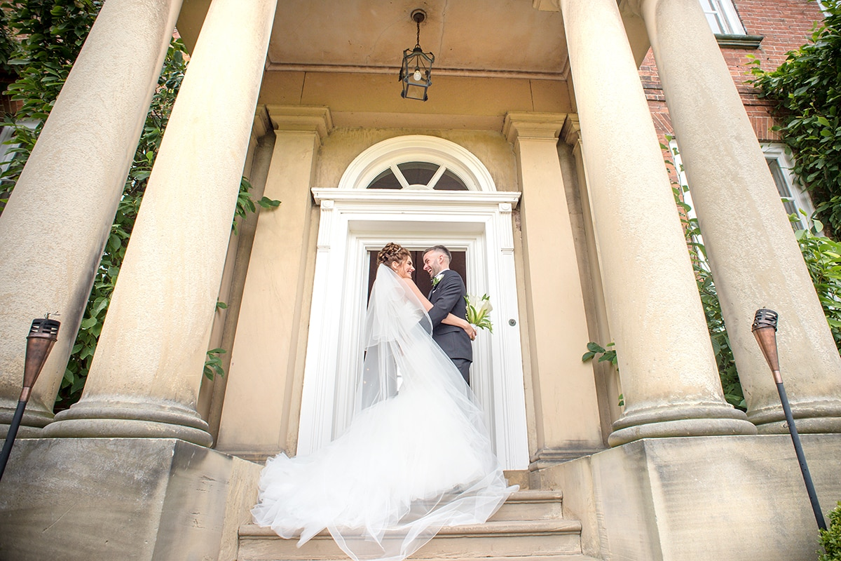 Iscoyd Park Shropshire Love Happiness Bride and Groom Catherine Bradley Photography