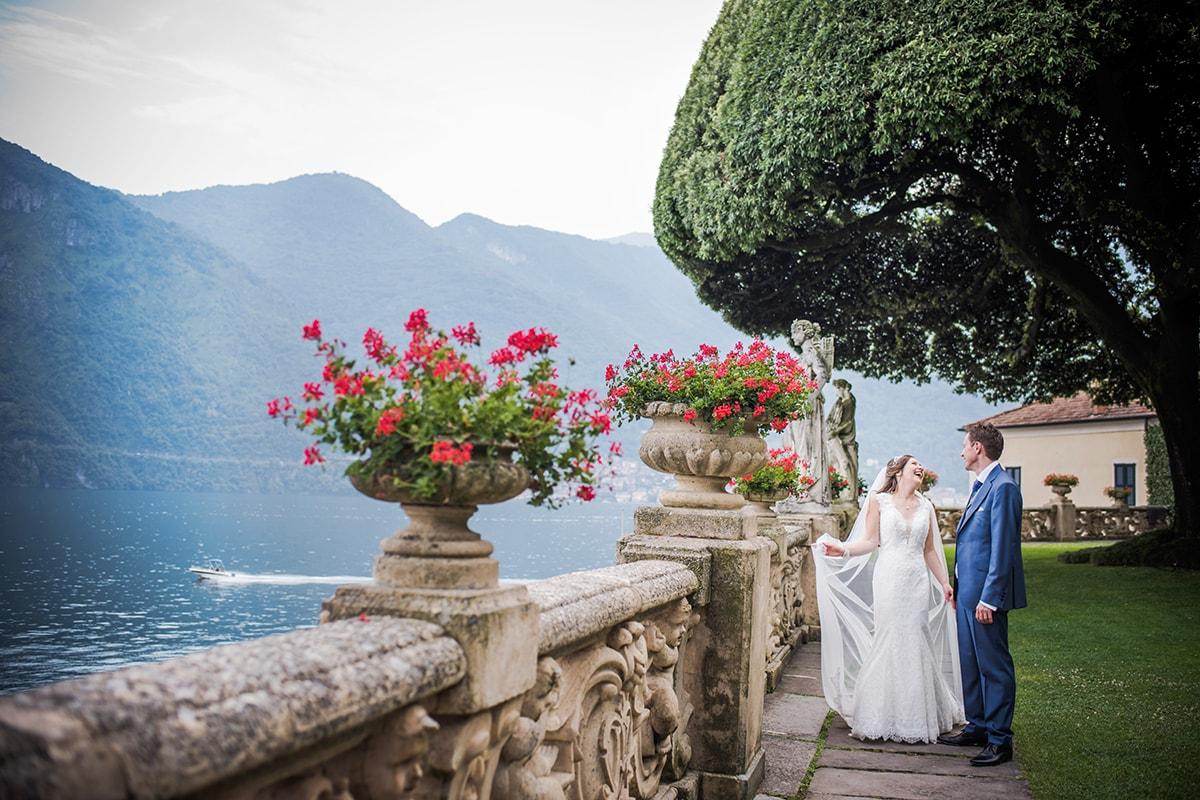 Villa del Balbianello Lake Como Italy Landscape Catherine Bradley Wedding Photography